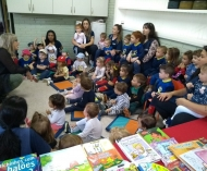 O Dia do Livro na Pintando7, teve participação de escritora para os nossos pequenos!